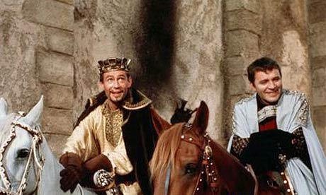 Henry II and Becket from Movie