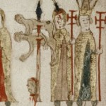 Thomas Becket with Saints