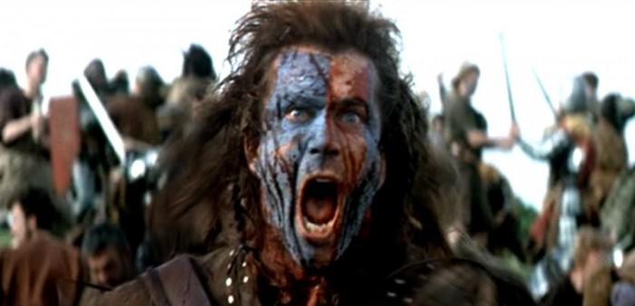 Screaming William Wallace