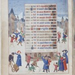 December, Book of Hours of Adélaïde de Savoie