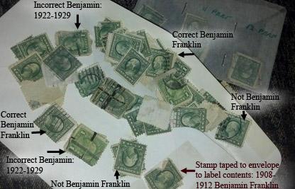 Bejamin Franklin Stamps