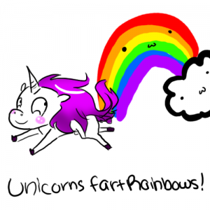 Unicorns Fart Rainbows