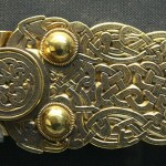 Anglo-Saxon Belt Buckle from Sutton Hoo
