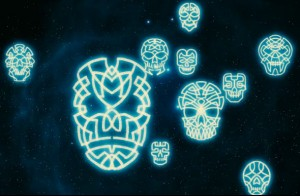 "Supposedly Celtic Masks in the Sky on ""Cosmos"""