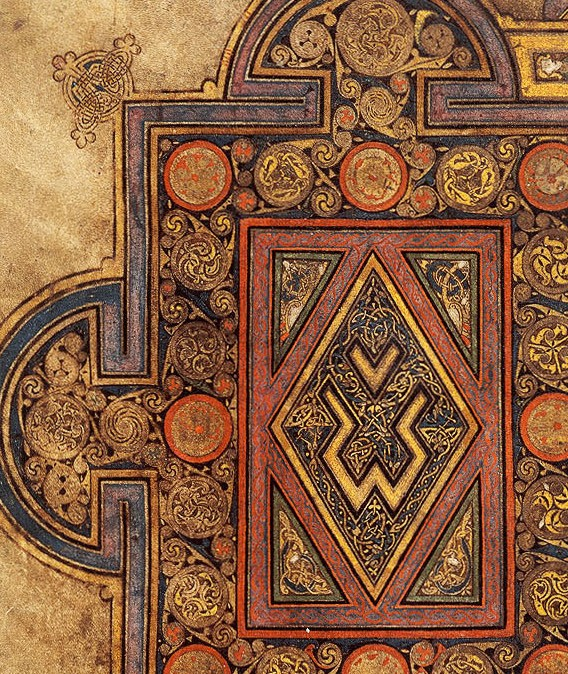Book Of Kells History Interrupted border=