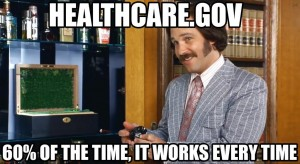 Healthcare.goc: 60% of the time it works every time.