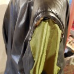 Sewing to hide shoulder foam