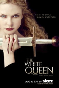 White Queen promotional poster
