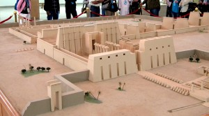 Model of the Temple at Karnak