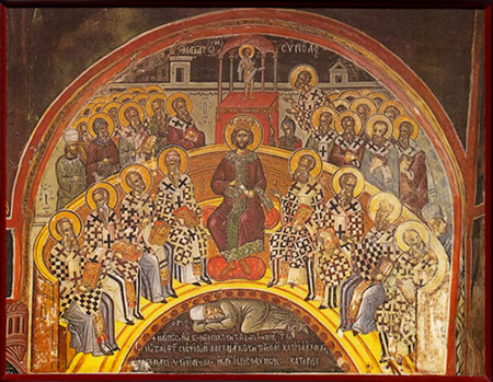 Constantine and the Bishops at Nicaea