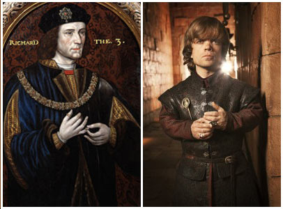 Richard III and Tyrion Lannister