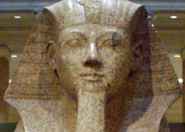 The Bearded Pharaonic Lady; also, Weird Popular Depictions