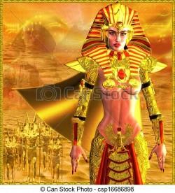 Strange Egyptian Woman