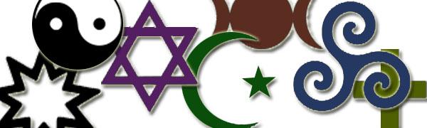 Multiple religious symbols