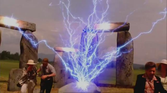 GISHWHES Stonehenge Apocalypse original scene