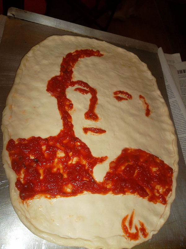 GISHWHES Captain Picard in condiments