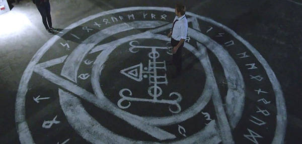 Rooftip sigil in TV's Constantine