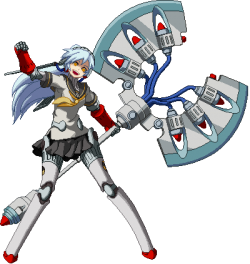 Character Labrys from video game