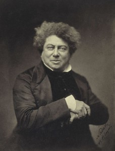 Historical photo of Alexandre Dumas