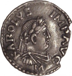 Coin of Charlemagne