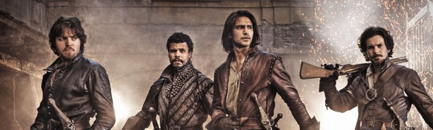 The Musketeers (c) BBC