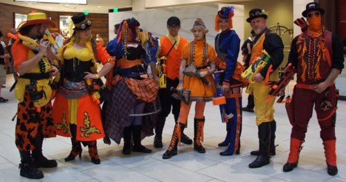 Nerfpunk: Costuming with a (Comical) Mission