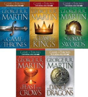 Song of Ice and Fire books