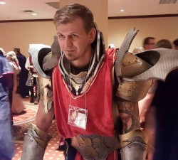 LARPer in armor, Game of Thrones, Gen Con 2015