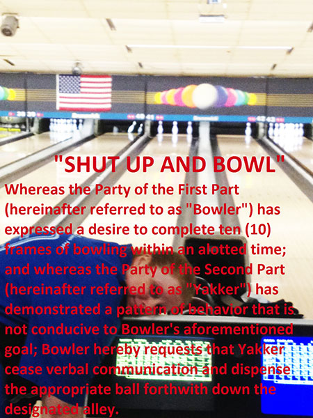 Shut Up and Bowl, gishwhes 2015