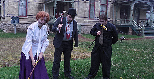 Zombie croquet, gishwhes 2015