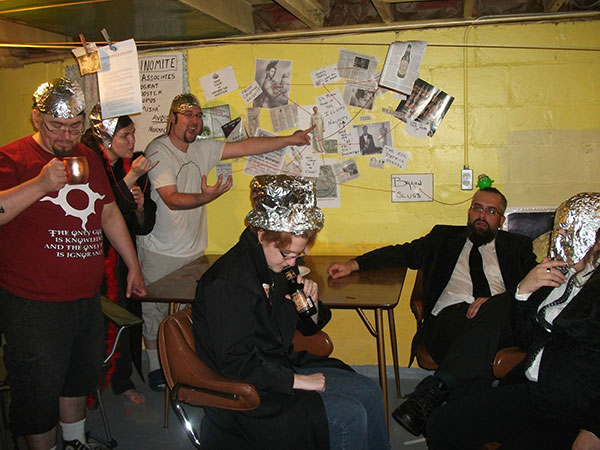 Conspiracy Theory Party, gishwhes 2015