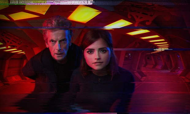 Doctor Who Sleep No More Doctor and Clara