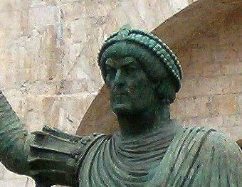 Statue of Valentinian the Great